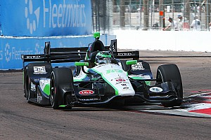 IndyCar Race report Dale Coyne Racing's  double podium finish speared in St. Petersburg