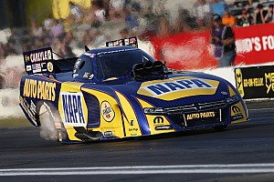 NHRA Qualifying report Capps, Torrence and Line race to qualifying leads Friday at Thunder Valley Nationals
