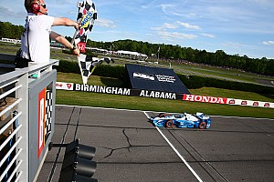 IndyCar Race report Pagenaud survives Rahal bump-'n'-run to win at Barber