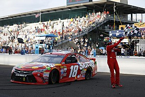 Kyle Busch makes NASCAR history with Brickyard 400 win