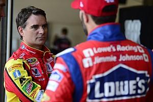 NASCAR Sprint Cup Interview Gordon on Johnson's seventh title chances: