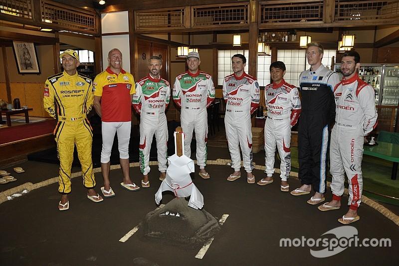 WTCCドライバーが土俵入り。日本ラウンドへの意気込みを語る