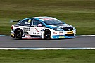 BTCC Ingram stripped of Brands Hatch front row qualifying spot