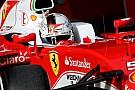 Vettel says new Ferrari a