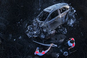 """WRC Breaking news Paddon: """"Small mistake"""" led to burned-out Hyundai – video"""