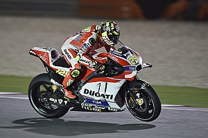 MotoGP Practice report Iannone third, Dovizioso ninth after first day of free practice action at Losail