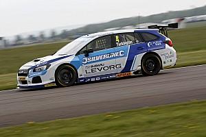 BTCC Breaking news Subaru's Thruxton problems are solved, says Turkington