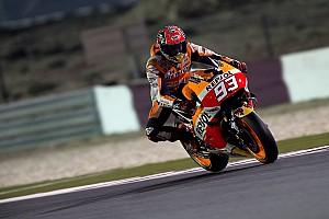MotoGP Race report Podium finish for Marquez in Qatar, Pedrosa fifth