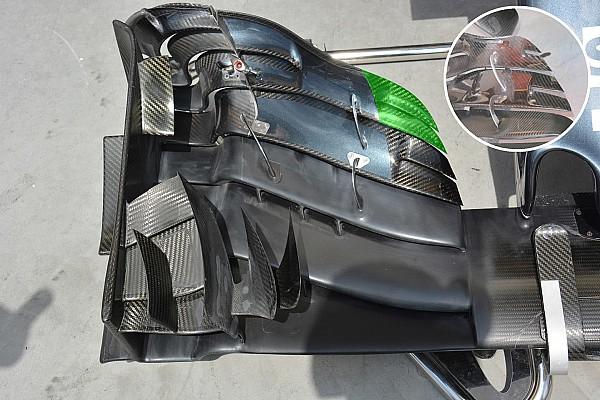 Formule 1 Analyse Technique - L'aileron avant de la McLaren modifié