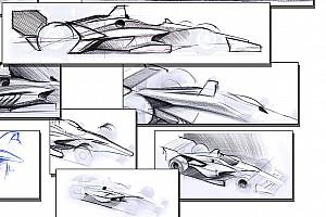 IndyCar Важливі новини Опубліковано нариси машин IndyCar 2018 року