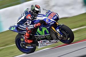 MotoGP Testing report Lorenzo dominates opening day of Sepang MotoGP test