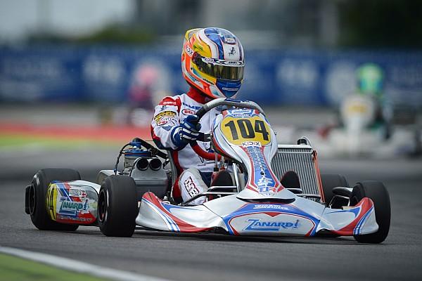 Kart Race report Joyner wins three-way battle to take European Championship lead
