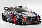 WRC Hyundai revela el i20 para 2017