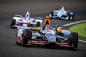 IndyCar Race report Tagliani moves up 16 positions at the Indy 500