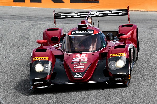 IMSA Qualifying report Mazda locks out the front row at Laguna Seca