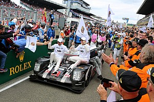 Le Mans Race report 18th overall win for Porsche after drama in Le Mans