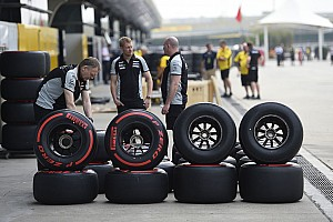 Formula 1 Breaking news WMSC approves 25 car days for 2017 F1 tyres