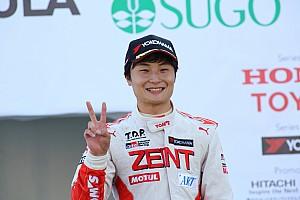 全日本F3 速報ニュース 全日本F3チャンピオンの山下健太「最終戦のスタート前は特に緊張した」