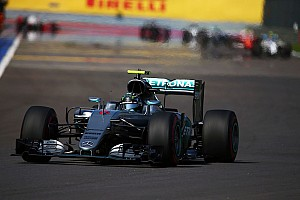 Formula 1 Race report Silver Arrows seal Sochi one-two in high tension Russian GP
