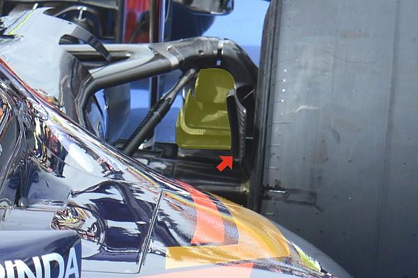Formula 1 Bite-size tech: Toro Rosso rear brake duct