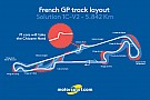 Formula 1 French GP layout will feature chicane on Mistral Straight