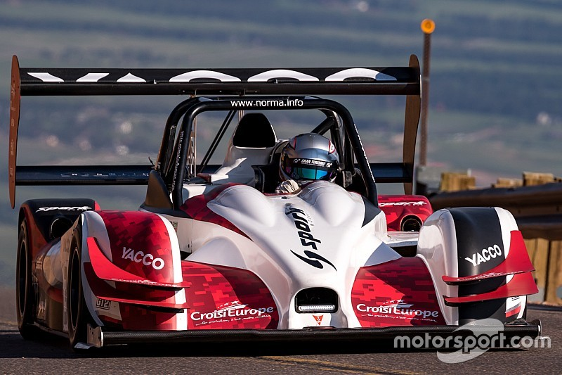 Romain Dumas refines settings for Pikes Peak