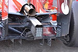 Bite-size tech: Ferrari blown axle and diffuser changes