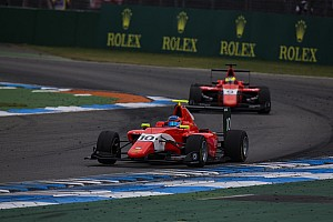 GP3 Breaking news Calderon reveals steering fix led to breakthrough GP3 point