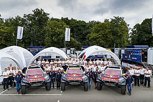 Cross-Country Rally Preview The starting pistol fires for Peugeot and Kamaz at Silk Way Rally