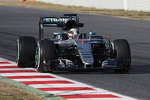 Formula 1 Testing report Hamilton and Rosberg wrap up successful opening week for the F1 W07 Hybrid