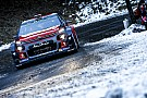 WRC Road car collision ends Meeke's Monte Carlo Rally