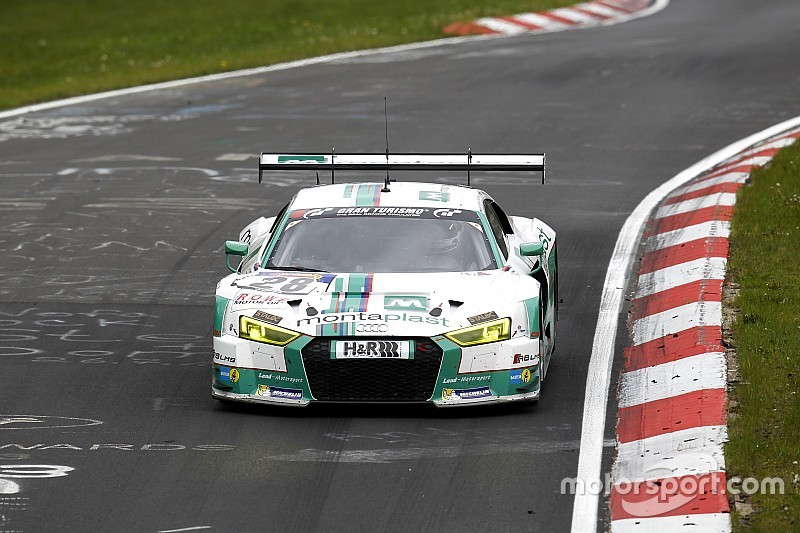 VLN 5: Pole-Position für Land-Audi in unter 8 Minuten