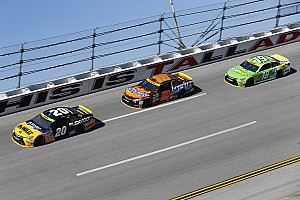 NASCAR Sprint Cup Analysis Analysis: Riding in the back wasn't popular, but it was the smart move
