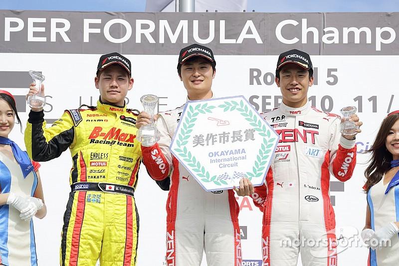 全日本F3第7大会ラウンド13/14岡山戦:13戦で山下が今季4回目の優勝。タイトルまで8ポイント差に。