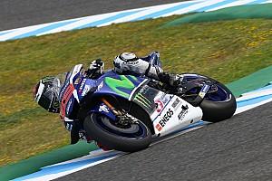 MotoGP Practice report Jerez MotoGP: Lorenzo on top in FP2, Suzuki airs new wings