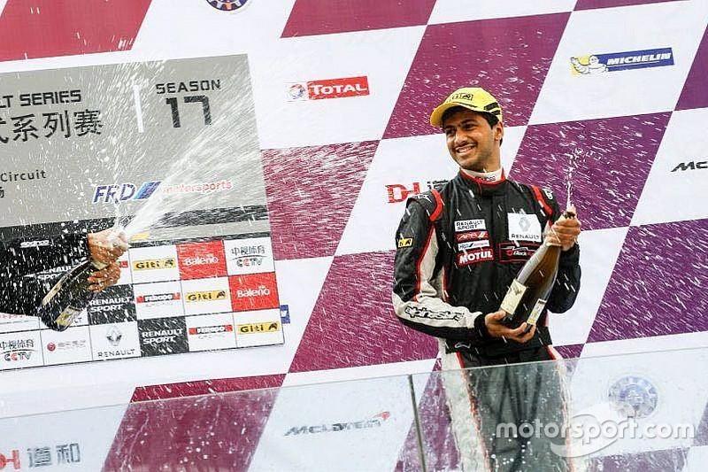 Dias takes double Class B podium on Asian Formula Renault debut