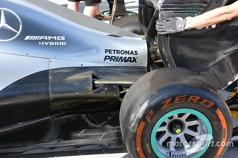 Bite-size tech: Mercedes W07 cooling requirements