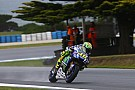 MotoGP Rossi demoted to 20th after losing FP1 times