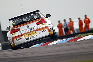 BTCC Breaking news Thruxton BTCC races should not have been shortened - Goff