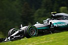 Austrian GP: Rosberg fastest again as Vettel crashes