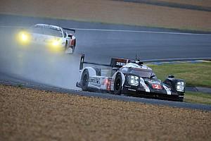 Ле-Ман Отчет о квалификации Дождь оставил стартовую решетку прежней, Porsche быстрее всех