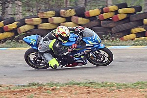 Other bike Race report Coimbatore Suzuki Gixxer: Rajnikanth takes Race 1 win as second race cancelled