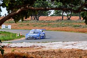Stock Car Brasil Relato da corrida Barrichello tem pane seca e Maurício vence segunda prova