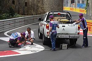 GP2 Breaking news Kerb issue forces GP2 qualifying postponement