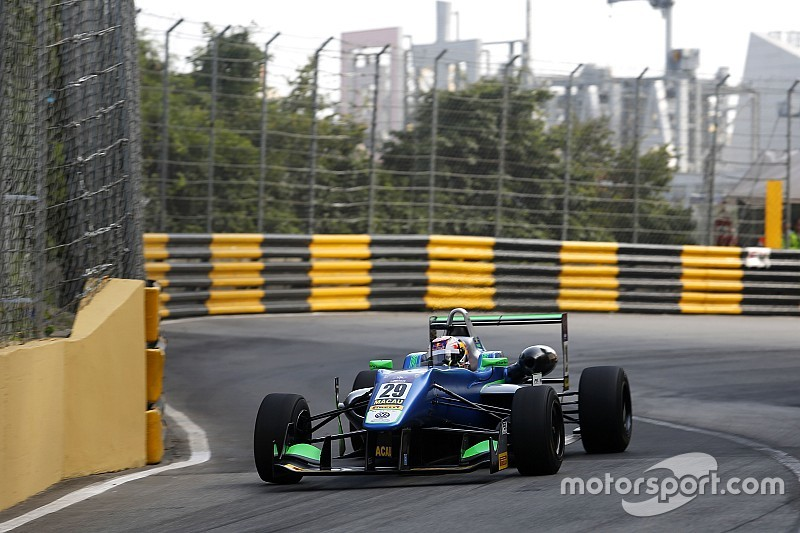Formel 3 in Macau: Antonio Felix da Costa auf provisorischer Pole-Position