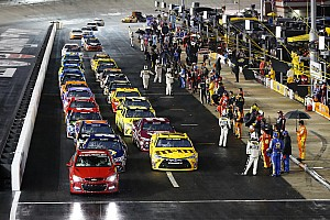 NASCAR Sprint Cup Breaking news NASCAR Sprint Cup race at Bristol halted due to rain, postponed