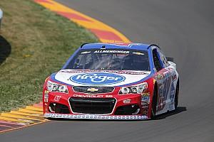 NASCAR Sprint Cup Practice report Allmendinger tops final Cup practice at Watkins Glen