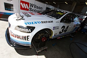 """Supercars Breaking news Moffat convinced crashed Volvo will be """"100 per cent"""""""