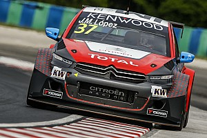 WTCC Qualifying report José MarÍa López extends Citroën's pole-winning streak
