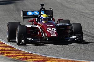 Indy Lights Race report Urrutia wins wet/dry race after more drama